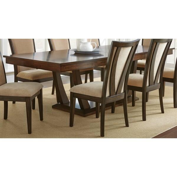 Greyson Living Gillian 8 Foot Pedestal Dining Table