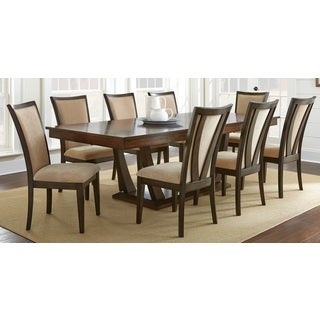 Greyson Living Gillian Pedestal Wood Dining Set