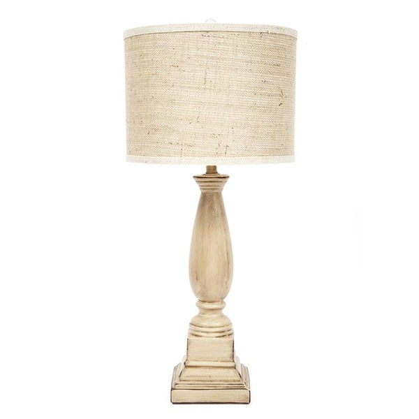 Fangio Lighting's MR8804 31-inch Ceramic Table Lamp with Textured Designer Shade