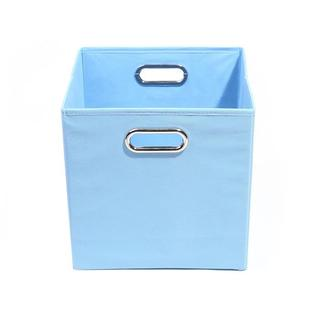 Sky Solid Baby Blue Folding Storage Bin