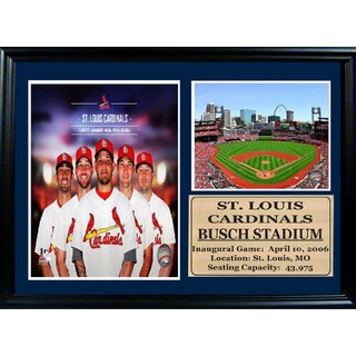MLB 2014 St. Louis Cardinals Photo Stat Frame