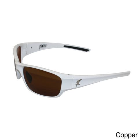 Velocity Men's White Pro Series Polarized Sunglasses