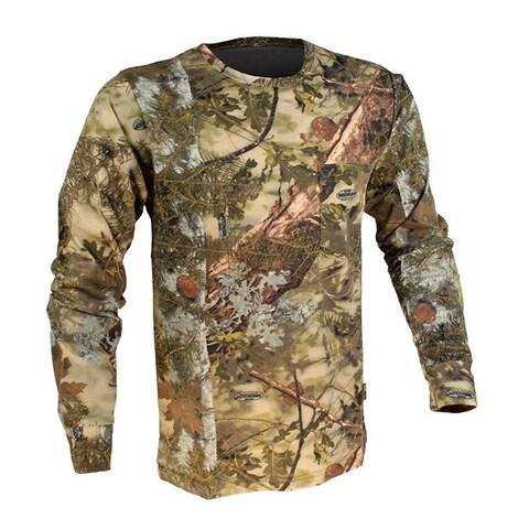 King's Camo Mountain Shadow Cotton Long Sleeve Hunting Tee