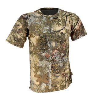 King's Camo Mountain Shadow Cotton Short Sleeve Hunting Tee