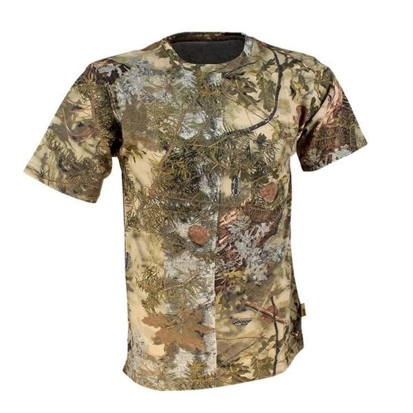 King's Camo Mountain Shadow Cotton Short Sleeve Hunting Tee
