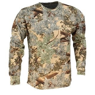 King's Camo Desert Shadow Cotton Long Sleeve Hunting Tee