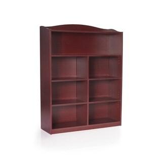 Guidcraft 5-shelf Bookshelf Cherry