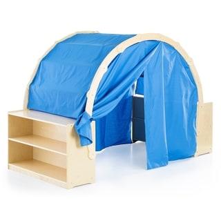 Playhouse Hideaway Bookshelves