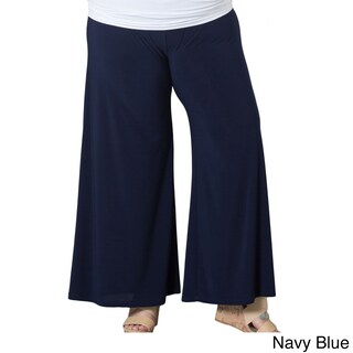 Sealed With a Kiss Women's Plus Size Palazzo Pants (3 options available)