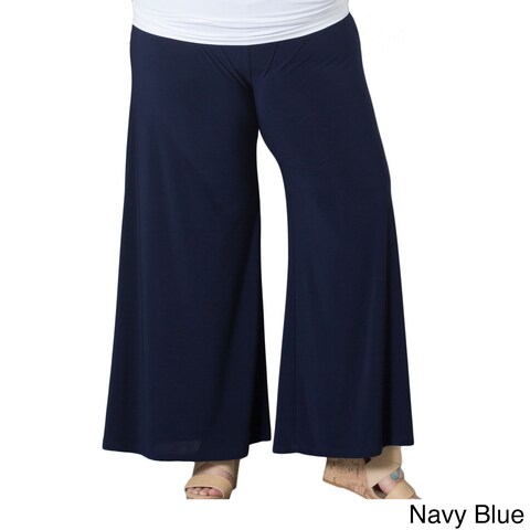 Sealed With a Kiss Women's Plus Size Palazzo Pants