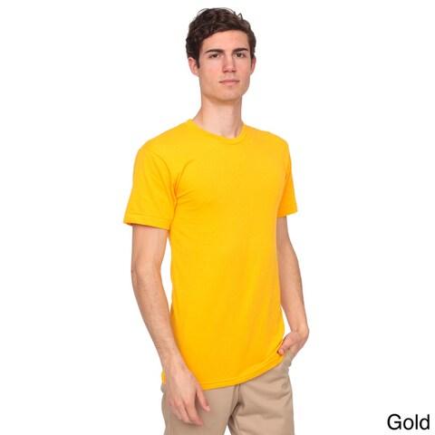 American Apparel Unisex Poly-cotton Crew Neck T-shirt