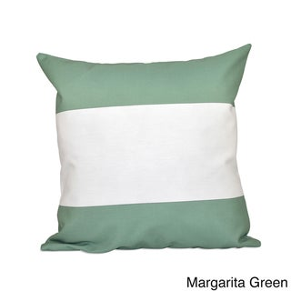 20 x 20-inch Bold Stripe Decorative Throw Pillow