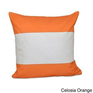 20 x 20-inch Bold Stripe Decorative Throw Pillow