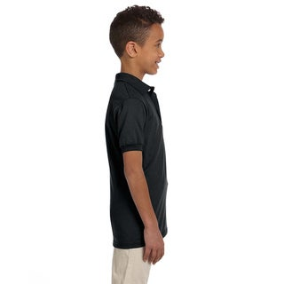 Youth 50/50 Jersey Polo with SpotShield