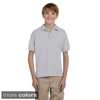 Gildan Youth DryBlend 50/50 Jersey Polo Shirt (More options available)