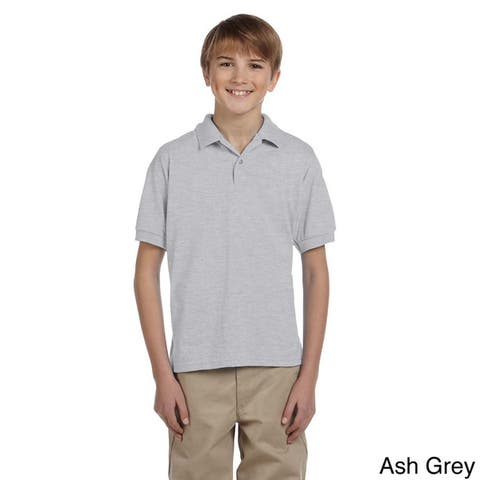 Gildan Youth DryBlend 50/50 Jersey Polo Shirt