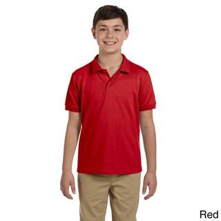 Gildan Youth DryBlend Pique Sport Shirt