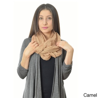 Crinkly Infinity Scarf