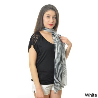 Leopard and Zebra Printed Scarf