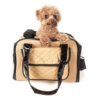 Pet Life Airline-approved Mystique Fashion Pet Carrier - One size