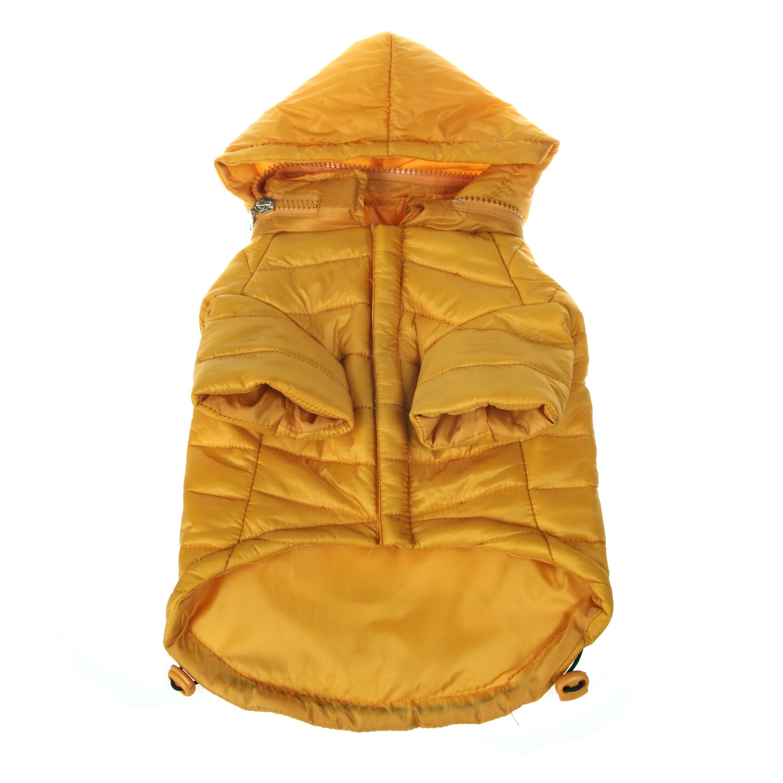 Petlife Adjustable 'Sporty Avalanche' Yellow Pet Coat (X-...