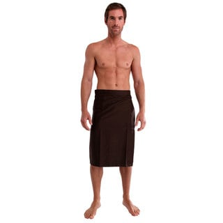 1 World Sarongs Men's Sulu Cotton Blend Sarong (Indonesia)