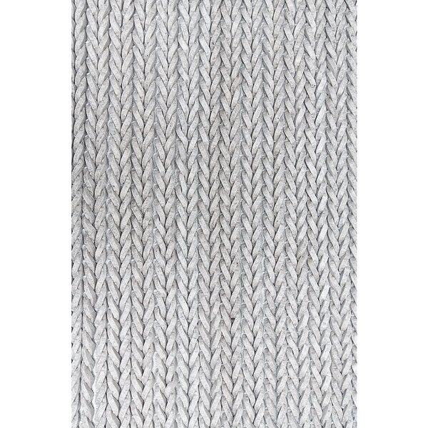 Braid Rules Silver Grey Modern Handmade Eco Friendly