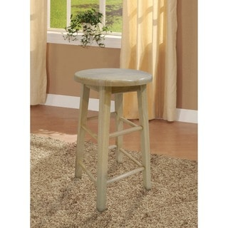 Linon Basic Stationary Backless Counter Height Stool