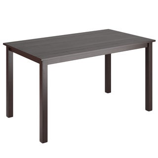 CorLiving Atwood 55-inch Wide Cappuccino Stained Dining Table