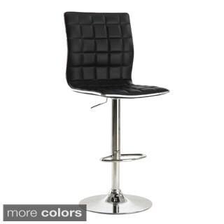 Coaster Company Adjustable Waffle Bar Stool with Footrest (Set of 2)
