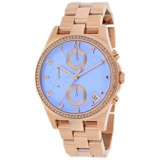 Marc Jacobs Women's MBM3299 Henry Glitz Chronogrpah Rose Gold Watch