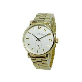 Marc Jacobs Women's MBM3243 Baker Goldtone Watch|https://ak1.ostkcdn.com/images/products/9104391/P16291449.jpg?impolicy=medium