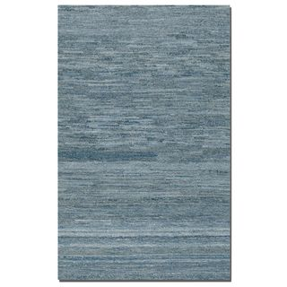 Uttermost Hand-tufted Genoa Denim Area Rug (5' x 8')