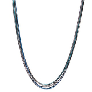 Alexa Starr 6-row Box Chain Necklace