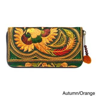 Handmade Flower Hmong Wallet (Thailand)