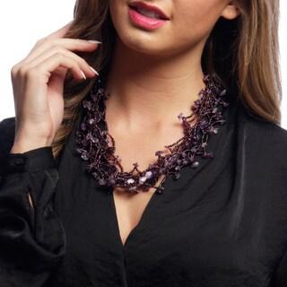 Beaded Maria Magnetic Necklace (Guatemala)