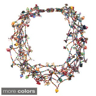 Beaded Maria Magnetic Necklace (Guatemala)