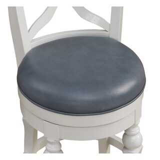 Hadleigh Counter Height Stool in White