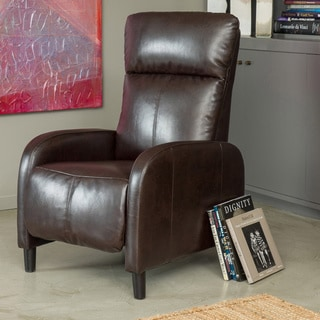 Stratton Recliner by Christopher Knight Home : leather armchair recliner - islam-shia.org
