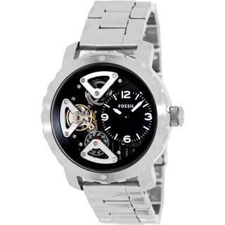 Fossil Men's ME1132 Nate Twist Stainless Steel Watch