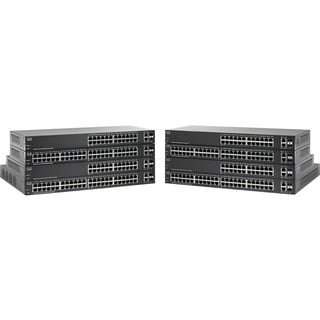 Cisco SF220-24P 24-Port 10/100 PoE Smart Plus Switch