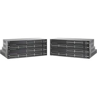 Cisco SG220-26P 26-Port Gigabit PoE Smart Plus Switch