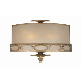 Crystorama Traditional 2-light Wall Sconce in Antique Brass