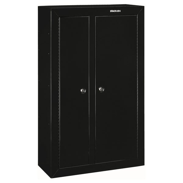Stack on 10 gun double door steel security cabinet free for 10 gun double door steel security cabinet