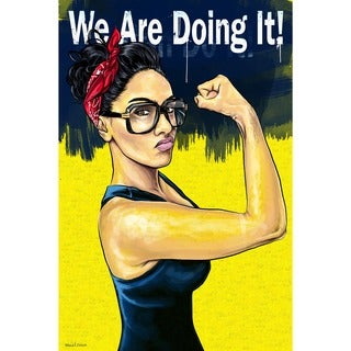 Maxwell Dickson 'We Are Doing It' Gallery-wrapped Canvas Pop Art