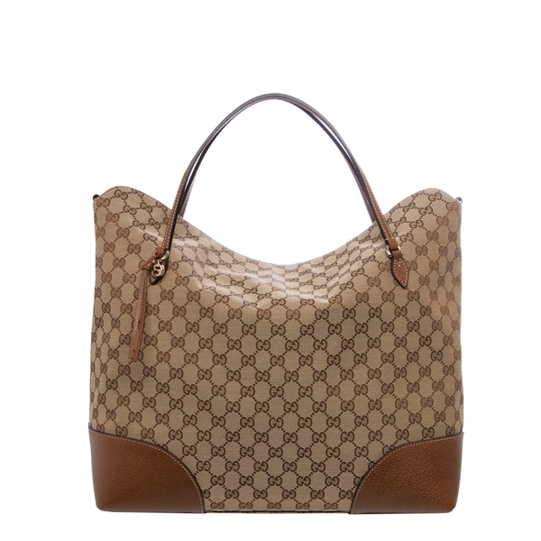 Gucci Large Bree Original GG Canvas Tote