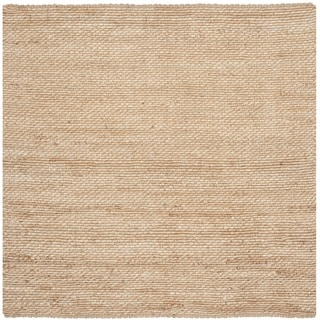 Safavieh Casual Natural Fiber Hand-Woven Natural Jute Rug (6' Square)