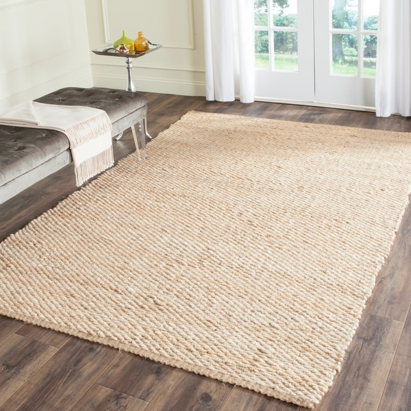 Safavieh Casual Natural Fiber Hand-Woven Natural Jute Rug - 8' x 10'