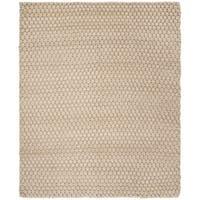Safavieh Hand-woven Manhattan Beige Wool Rug - 8' x 10'