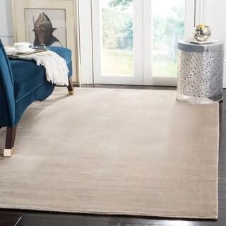 Safavieh Handmade Mirage Modern Silver Viscose Rug (5' x 8')